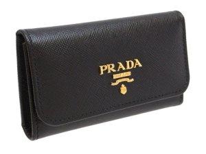 画像2: プラダ キーケース / サフィアーノ レザー キーケース 1M0222 1PG222 SAFFIANO METAL NERO ブラック